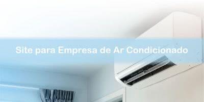 site para empresa de ar condicionado